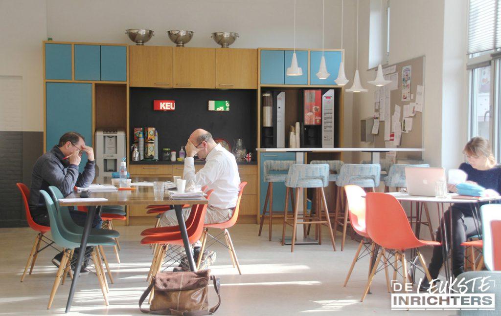 Jaren-'50-personeelskamer-Christelijk-Gymnasium-Utrecht