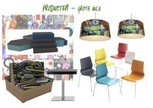 RSG Lingecollege producten aula bovenbouw