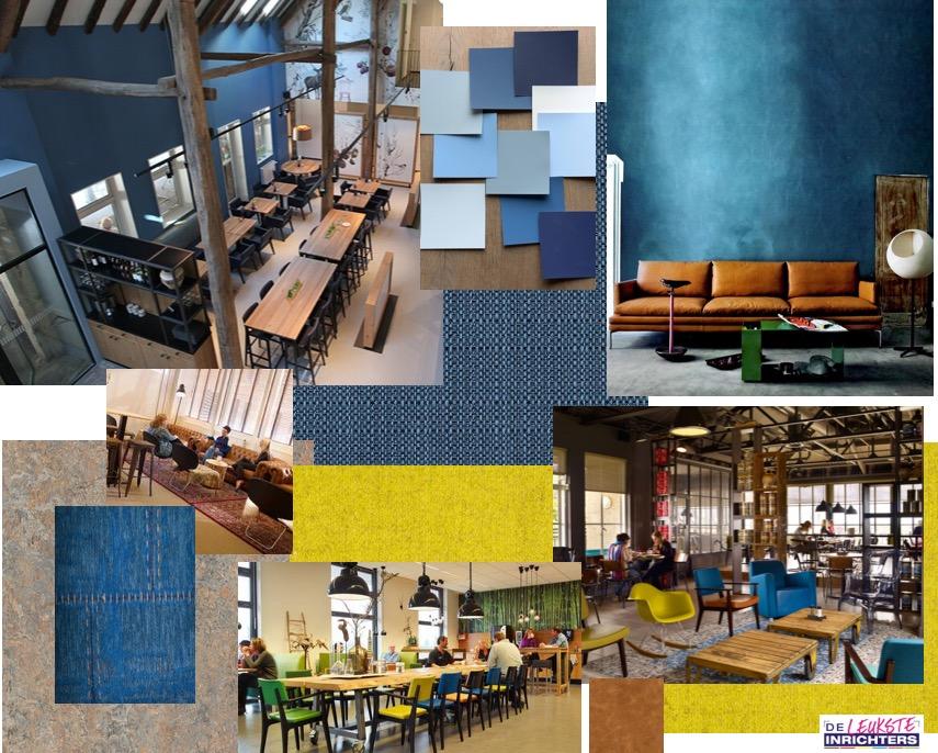 Collage ontwerp hal De Boet