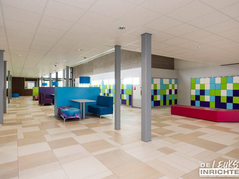 Alfrink aula hal gang ontwerp inrichting