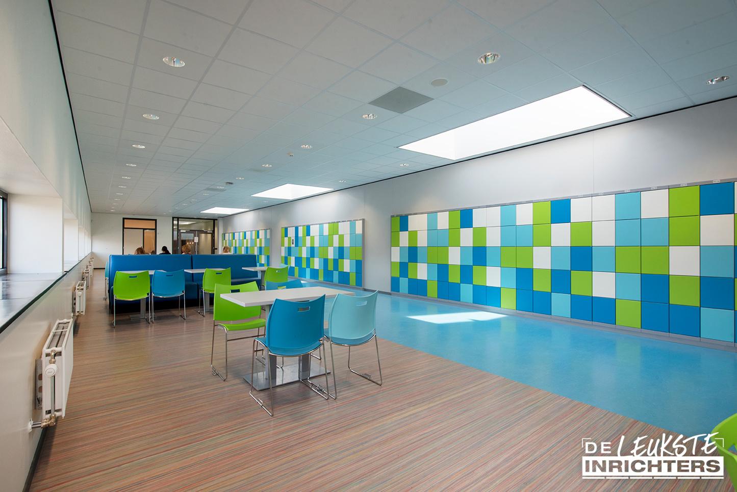 Alfrink aula hal gang ontwerp inrichting 1