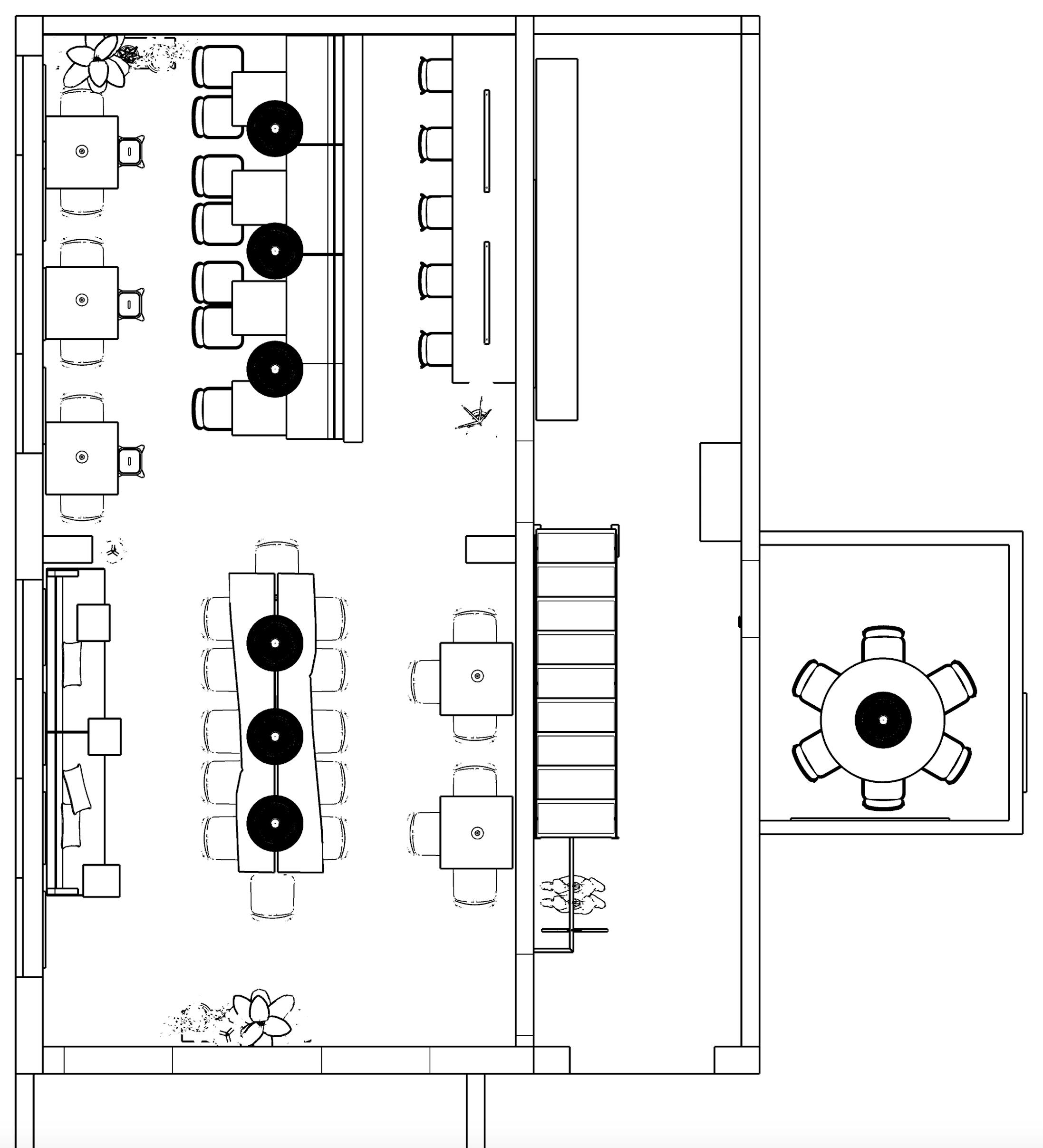 personeelskamer-inrichten-de-leukste-inrichters-plattegrond-ontwerp-zwart-wit