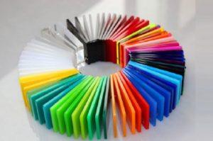 Huislijn-acrylaat-kleuren